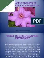 Demographic Dividend
