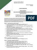 Study Guide Socialnomics F12