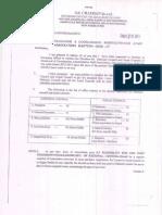 ADASA Election Notification 2015