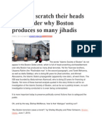 Boston Terrorist Mosque Blueprint