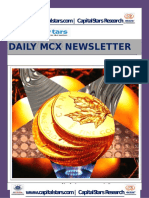 MCX COMMODITY MARKET NEWS FOR 09 JUN 2015