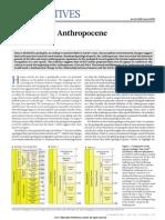 defining the anthropocene