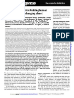 planetary boundaries science 15th january 2015