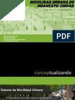 Realidad de la Movilidad Urbana en la ciudad de Huancayo