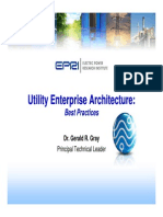 Utility Enterprise Architecture Best Practices - Webcast