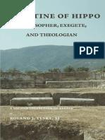 Augustine of Hippo_ Philopher, Exegetic - Teske, Roland J