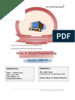 Shell Programming