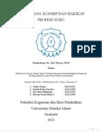 PENGERTIAN, KONSEP DAN HAKIKAT PROFESI GURU.doc