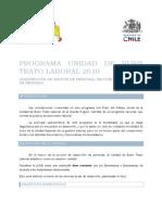 Programa Unidad de Buen Trato Laboral 2010x