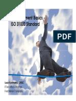 125221930 Risk Management Basic ISO 31000