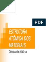 Aula01-CMAT-Estrutura Atômica e Cristalina 2012-2