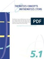 PISA Math Concepts Items