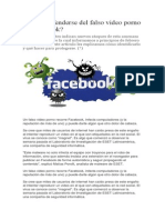 Cómo Defenderse Del Falso Video Porno en Facebook1