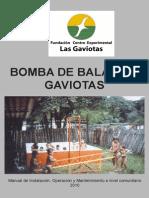GAIVOTA_Bomba de Balancin