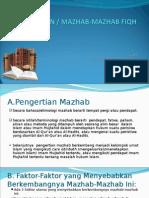 2.Aliran-Aliran Atau Mazhab-mazhab Fiqh