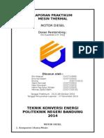 Laporan Motor Diesel