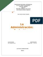 Administración (Evolución y Escuelas Del Pensamiento-tania)