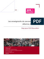 Rapport Ifop Reforme Du Collège