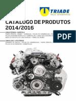 Catálogo Triade Peças Automotivas 2014/2016