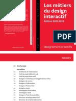 Les métiers du design interactif