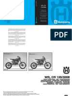 Husqvarna WR-CR 125 Service Manual - 2006