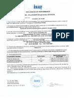 Certificat Conformitate