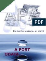 Apa - elementul esential al vietii.ppt