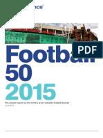 Najhodnotnejšie futbalové kluby