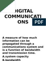 Digital Comm Multiple Choice