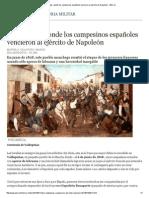 Valdepeñas, Donde Los Campesinos Españoles Vencieron Al Ejército de Napoleón - ABC