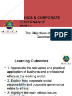Slide 5 the Objectives of Corporate Governance
