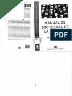 Manual de Sociología de La Religión