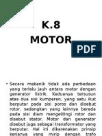 K.8 SU II Motor