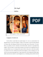 The Cat and the Angel of the Annunciation