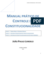 Manual Prático de Controle de Constitucionalidade
