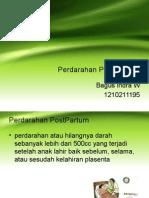 Perdarahan Post Partum Primer