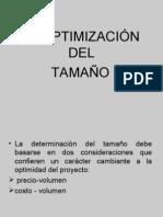 Optimización del Tamaño