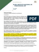 Decreto Ejecutivo Instituto de Preinversion
