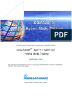 CDMA 2000 hybride