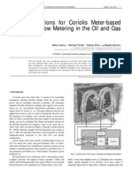 New Applications for Coriolis Meter-based Multiphase Flow Metering in the Oil and Gas Industries