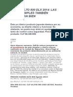 Suzuki Alto 800 Dlx 2014