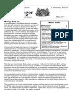 Community Bulletin for June 2015