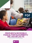 Propuesta Modelo Fortalecimiento Uso TIC en Contextos Escolares