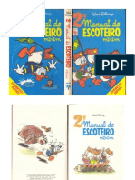 Manual Do Escoteiro Mirim - Walt Disney - 2a. Edicao - 1976