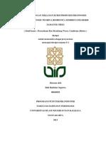 Perancangan Meja Dan Kursi Produksi Ergonomis Dengan Metode Teoriya Resheniya Izobretatelskikh Zadatch (TRIZ)