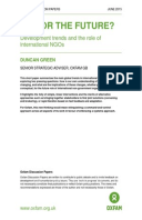 Fit for the Future? Development trends and the role of international NGOs