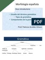 Morfologia Niveles de La Lengua