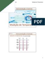 10. Acetatos Medição de Temperatura