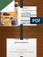 Digital Integrated CircuitsA Design PerspectiveDesigning SequentialLogic Circuits.pdf