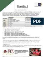 Summer Term 2015 Newsletter 4